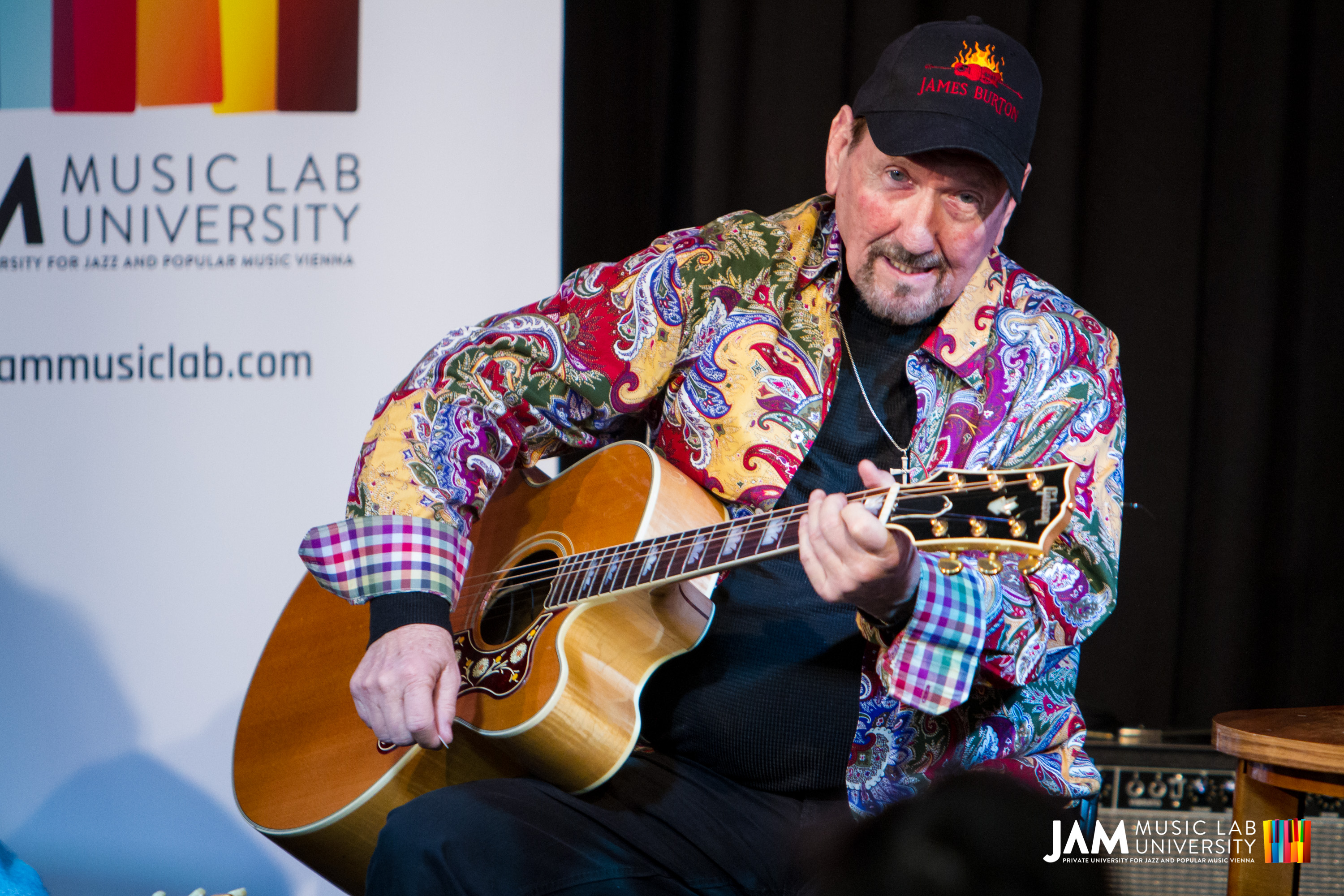 James Burton at JAM MUSIC LAB | Jam Music Lab University