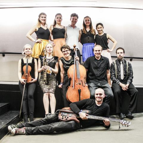 JML Collective Ensemble plays at EU Parliament