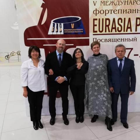 JMLU at Eurasia Piano Forum Kasachstan