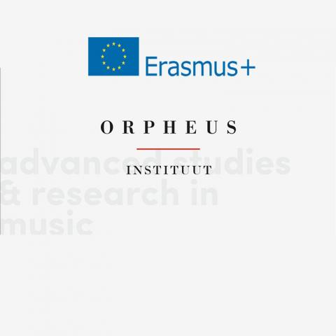 Irene Malizia & Angelo Tatone visiting the Orpheus Institute in Ghent