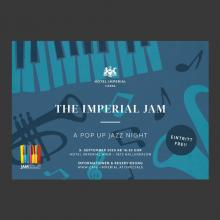 The Imperial JAM – A Pop Up Jazz Night at the Hotel Imperial Vienna