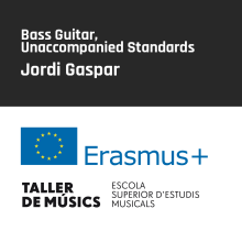 Bass Guitar,  Unaccompanied Standards – Jordi Gaspar