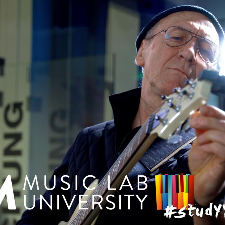 Adult Education at JAM MUSIC LAB - Rudi Schauer