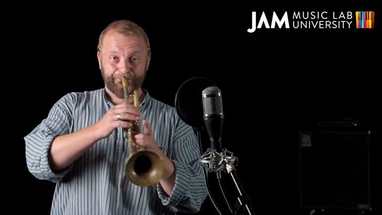 Study trumpet with Thomas Gansch at JAM MUSIC LAB UNIVERSITY VIENNA